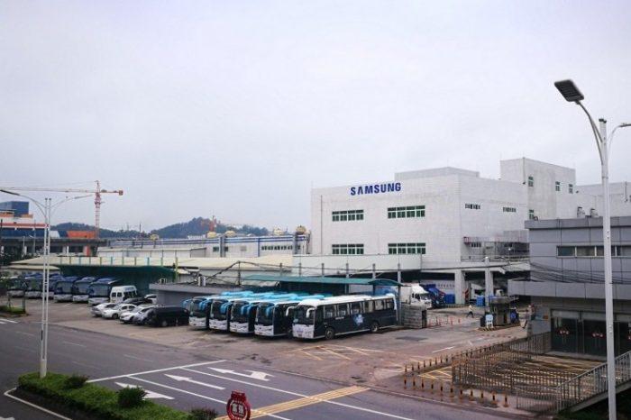 Fábrica da Samsung em Huizhou