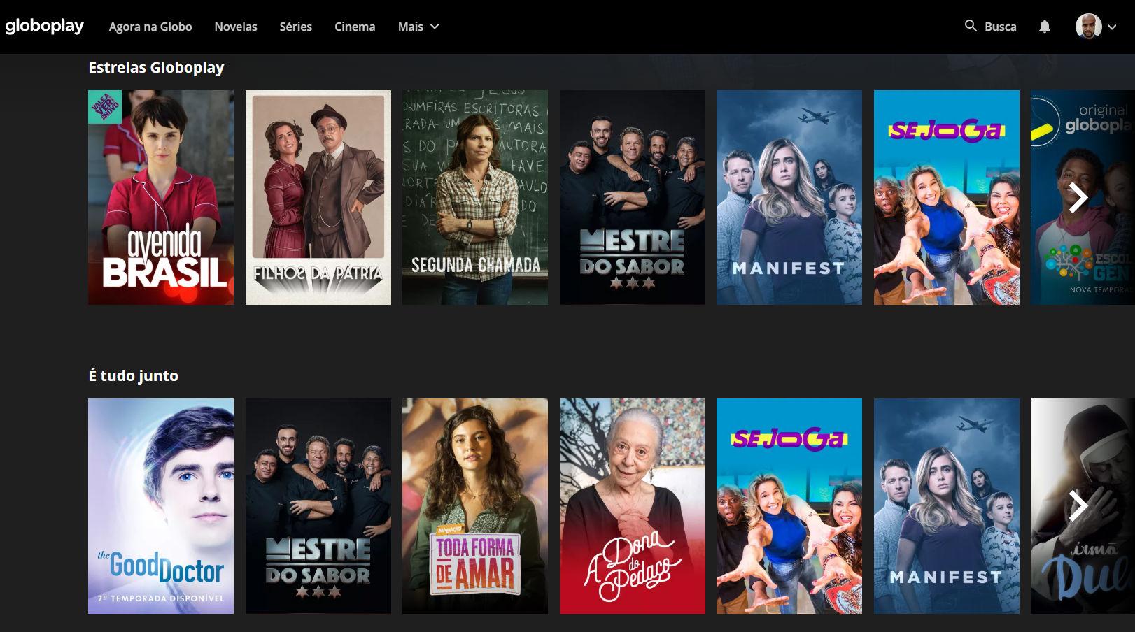 globoplay 001 - Plataforma de streamings de filmes: conheça as melhores!