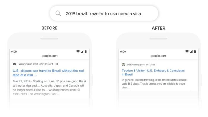 Google muda algoritmo de busca