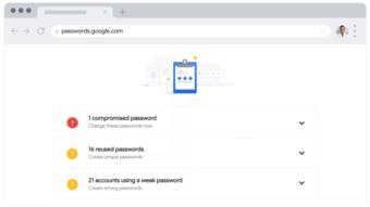 Google Password Checkup avisa quando sua senha vazar