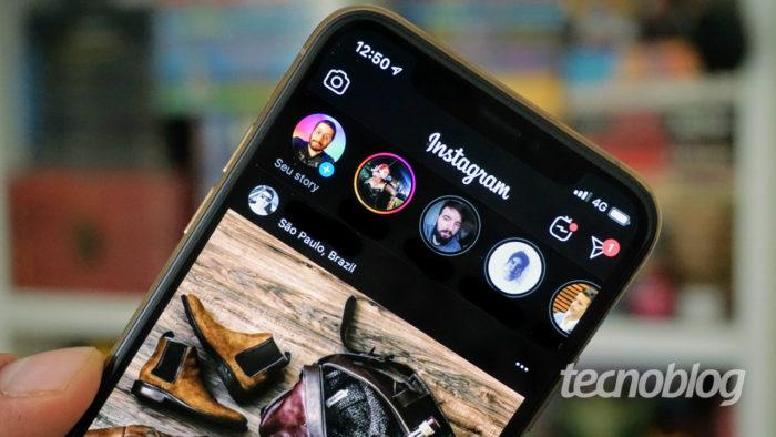 Aplicativo do Instagram (Imagem: André Fogaça/Tecnoblog)