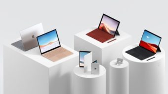 Microsoft Surface Pro X tem processador Surface SQ1 com arquitetura ARM