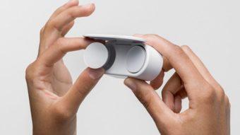 Microsoft Surface Earbuds são fones true wireless com foco em música e voz