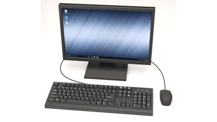 Monitor, teclado e mouse /o que é hardware