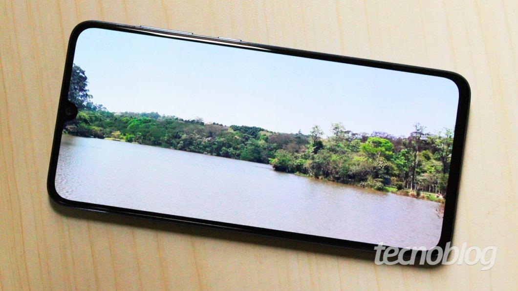 Samsung Galaxy A70 - tela