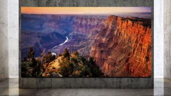 Samsung começa a vender TVs Micro LED com resolução 8K e até 292 polegadas