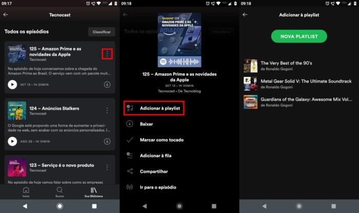 Spotify / Como criar uma playlist no Spotify