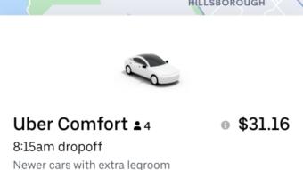 Uber Comfort é anunciado no Brasil com corridas sem conversas