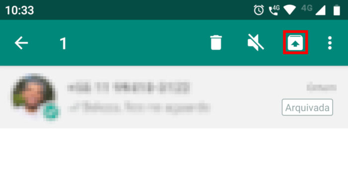 Android / WhatsApp / como esconder conversas no whatsapp
