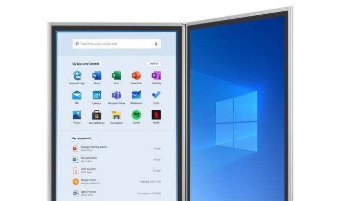 Windows 10X (Imagem: divulgação/Microsoft)