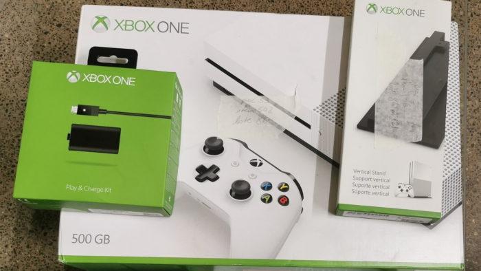 Xbox One leilão Receita Federal