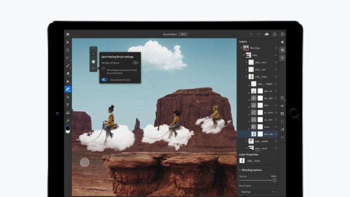 Adobe Photoshop para iPad