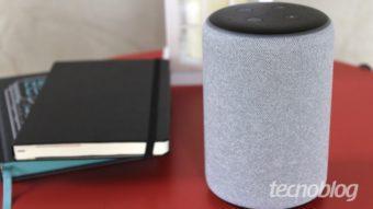 Podcasts da Apple e Spotify já podem ser reproduzidos em falantes Echo