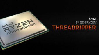AMD Threadripper de 3ª geração tem processadores de até 32 núcleos