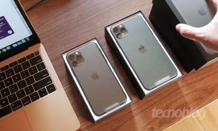 Apple iPhone 11 Pro e 11 Pro Max