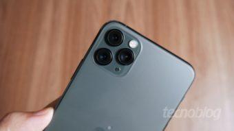 O que é renderização semântica da câmera do iPhone 11?