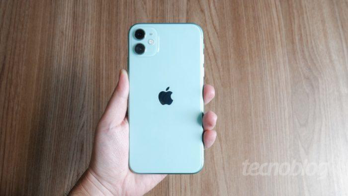 Apple iPhone 11 (Imagem: Paulo Higa/Tecnoblog)