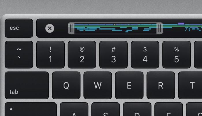 Teclado do MacBook Pro