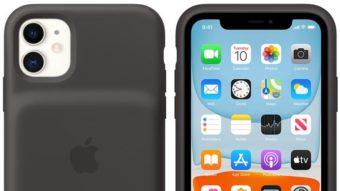 Apple lança capa com bateria e recarga sem fio para iPhone 11 e 11 Pro