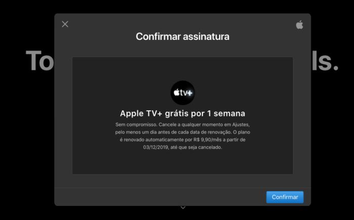 Assinatura Apple TV+ (Imagem: Reprodução/ Apple TV+)