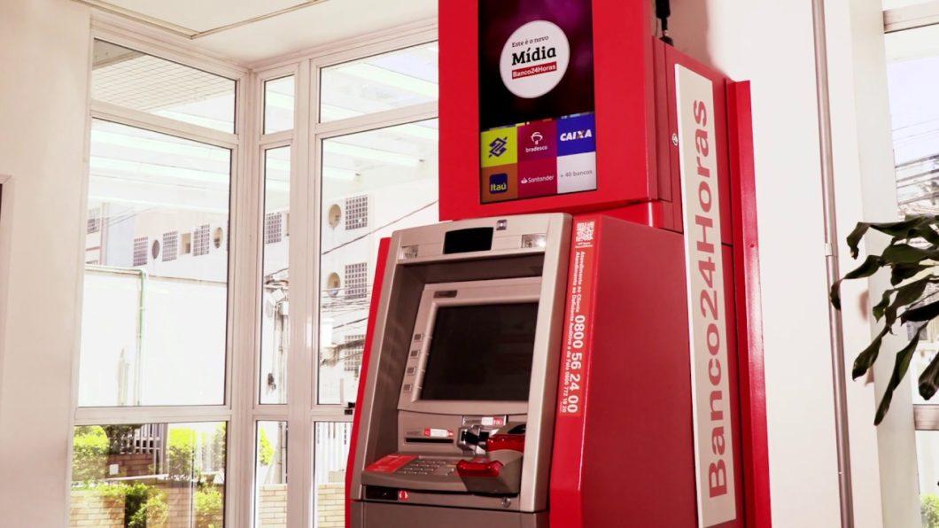 Caixa do Banco24Horas (Imagem: Divulgação)