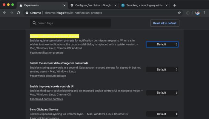 Google Chrome 78 com mudanças nas notificações