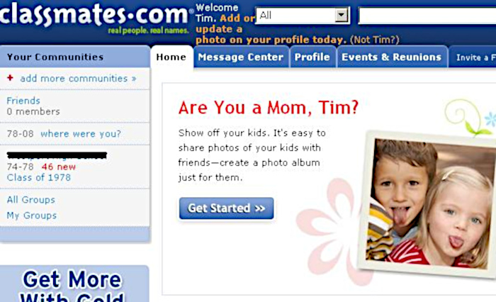 Classmates.com / qual foi a primeira rede social criada na internet