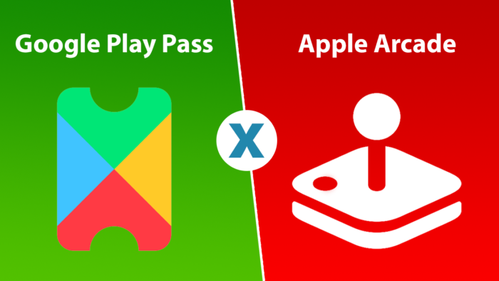 comparativo entre google play pass e apple arcade