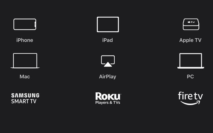Dispositivos compati?veis com Apple TV Plus