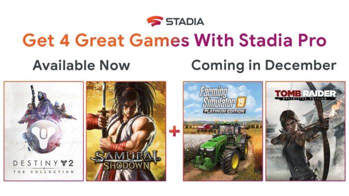 Google Stadia - jogos gratuitos