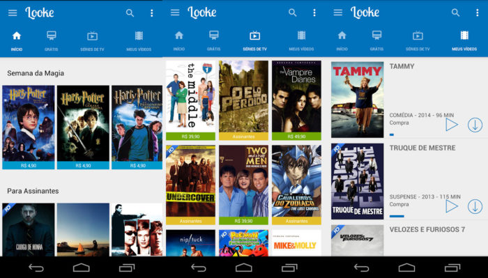 Android / Looke / Looke filmes
