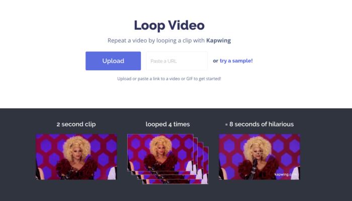 Loop Video - Kapwing