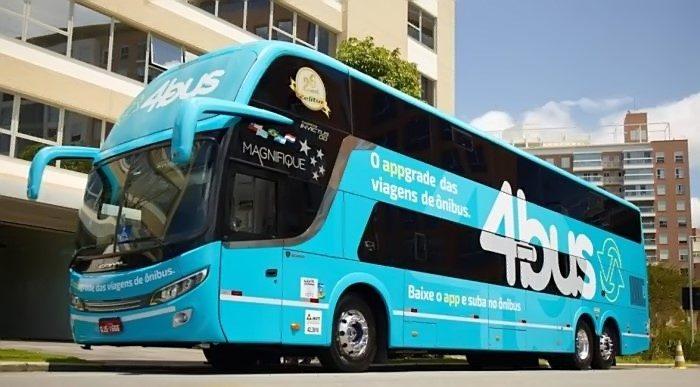 Ônibus da 4Bus (Foto: Revista do Ônibus)