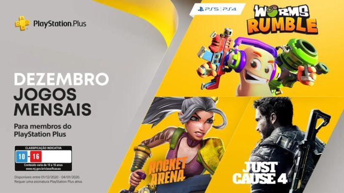 Jogos da PlayStation Plus de dezembro de 2020 (Imagem: Divulgação/PlayStation)