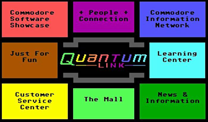 America Online / Q-Link / qual foi a primeira rede social criada na internet