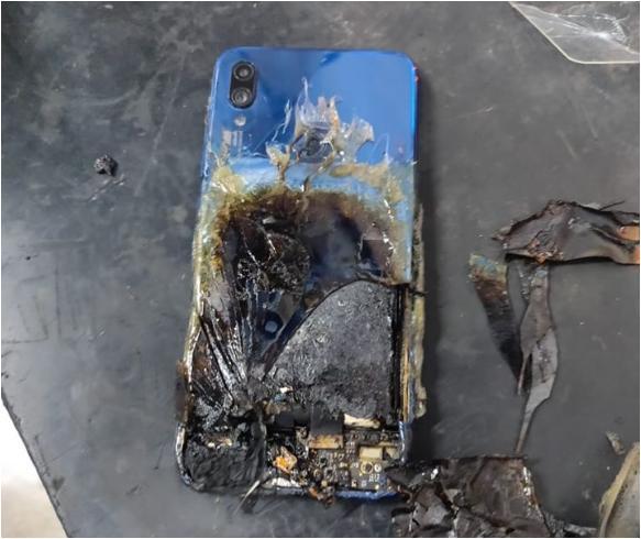 O Redmi Note 7S que pegou fogo