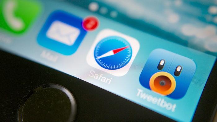 Safari é o navegador padrão no sistema operacional da Apple