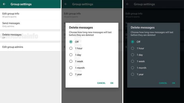 WhatsApp trabalha em opção de autodestruir mensagens em grupos