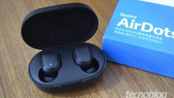 Xiaomi Redmi AirDots: bom e barato