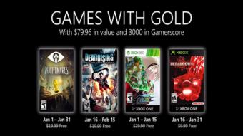 Xbox Live Gold de janeiro tem Little Nightmares, KOF XIII e mais jogos grátis