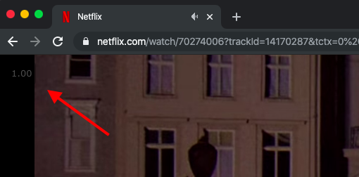 extensão para ajustar velocidade de reprodução na Netflix