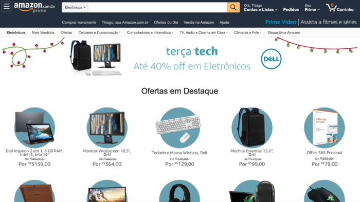 Amazon Terça Tech de dezembro de 2019