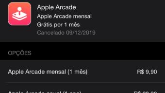 Apple Arcade agora tem assinatura anual de R$ 99,90
