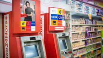 """Banco24Horas vai expandir caixa eletrônico que """"recicla"""" dinheiro das lojas"""