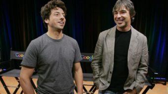 Larry Page e Sergey Brin saem do comando da Alphabet, dona do Google