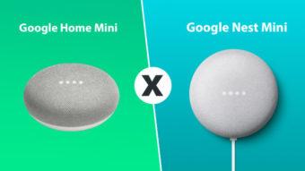 Comparativo: Google Home Mini e Nest Mini