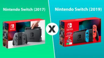 Comparativo: o que há de novo no Nintendo Switch (2019)