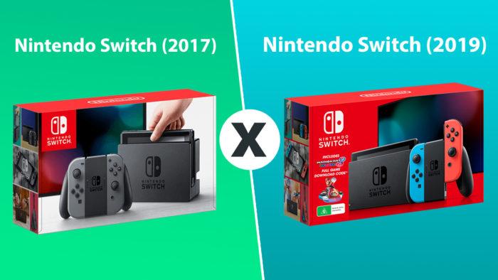 comparativo novo nintendo switch