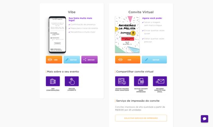 Convite Virtual para WhatsApp - FestaLab