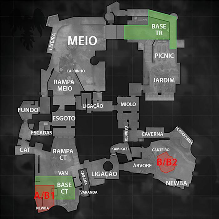 Valve / Counter-Strike: Global Offensive / mapas CS GO